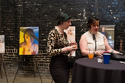 Photographic Work on Display at Catharsis Fashion Show