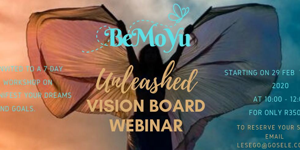 BeMoYu Unleashed Vision Board Webinar