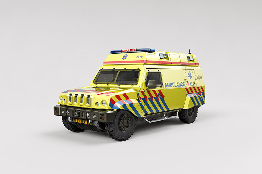 SIRE Armored Ambulance