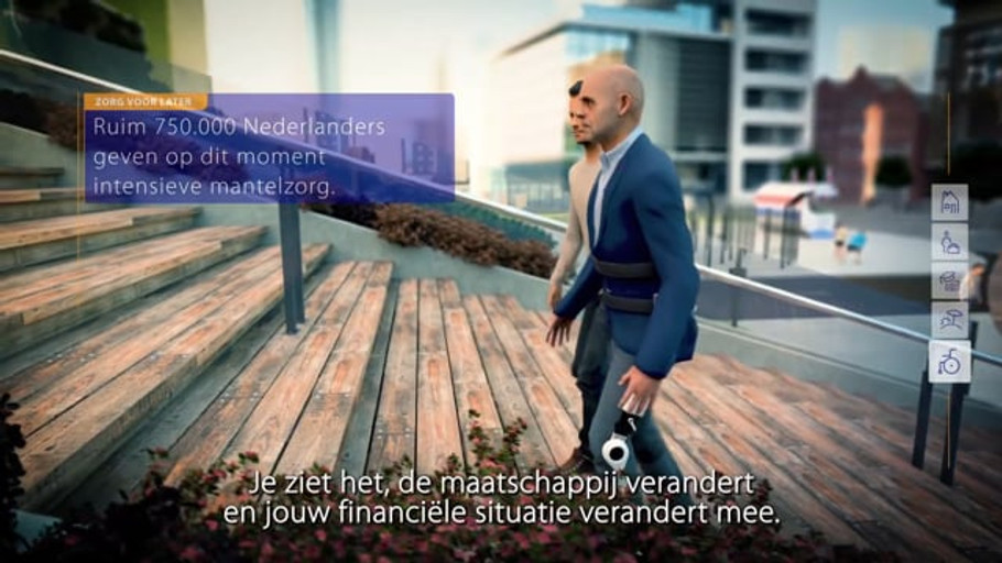 "Rabobank ""Later on you might need it"" campaign"