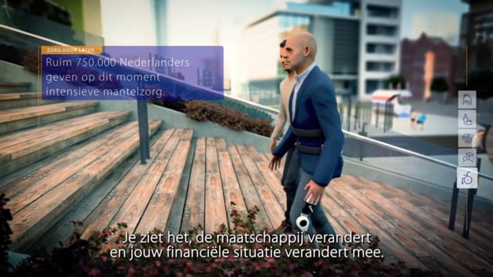 """Rabobank """"Later on you might need it"""" campaign"""