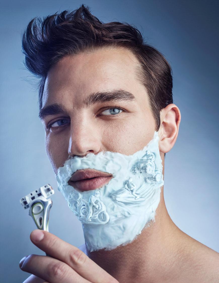 Schick Edge 'Shaving Foam'