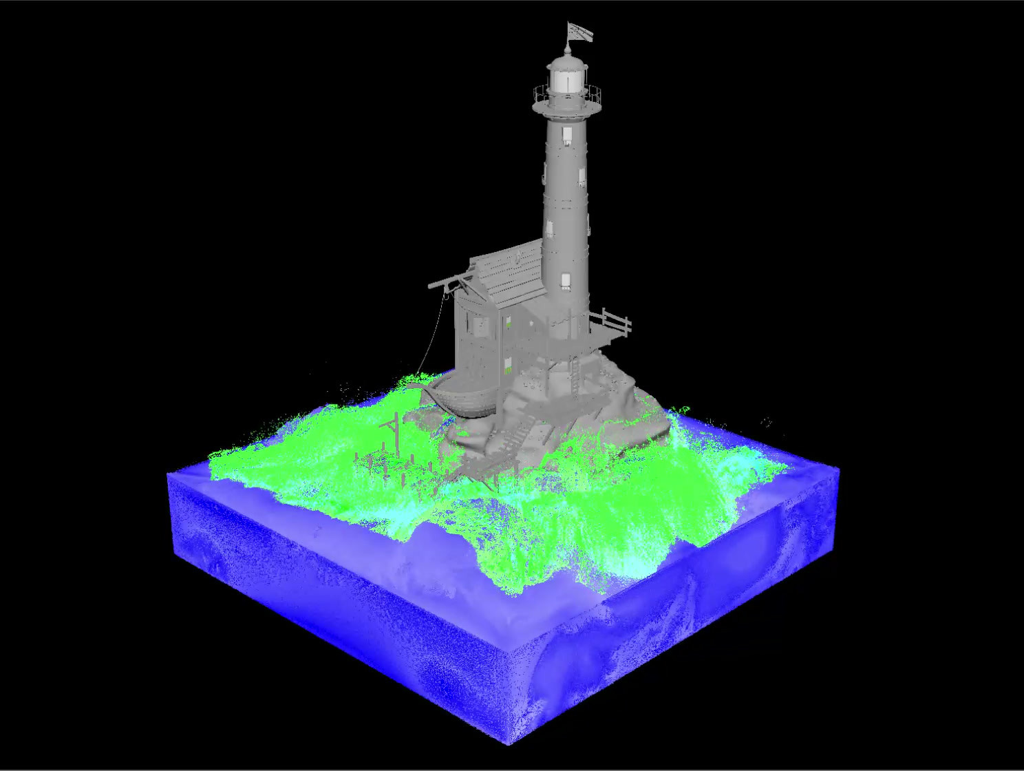 Ocean Simulation Video