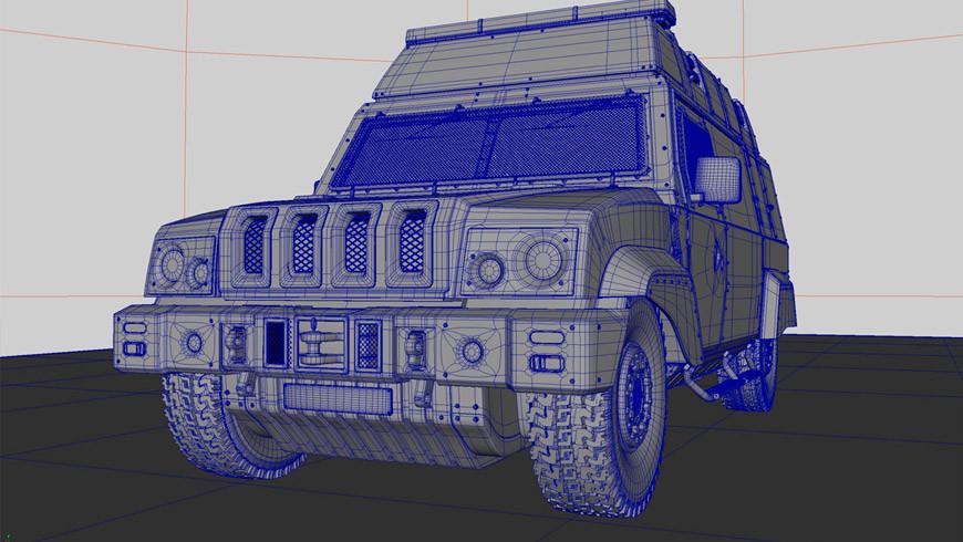 SIRE Armored Ambulance