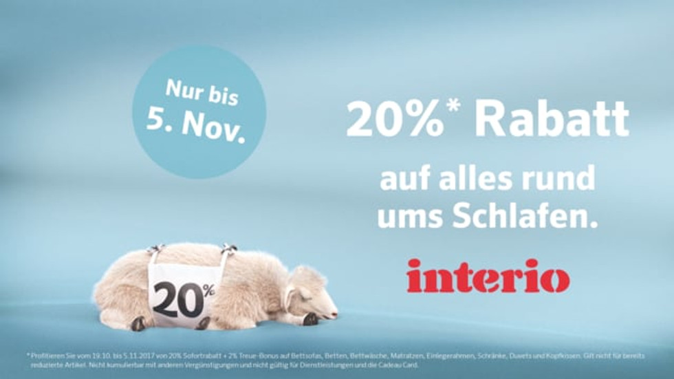 Interio Sleep - Sheep