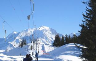 le ski à La Giettaz