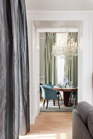 Château de Fiac salle à manger appartement