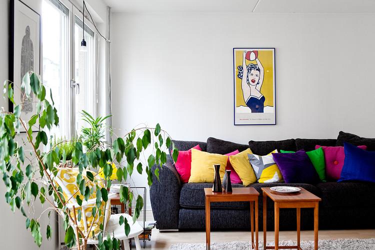 décoration salon couleur printemps
