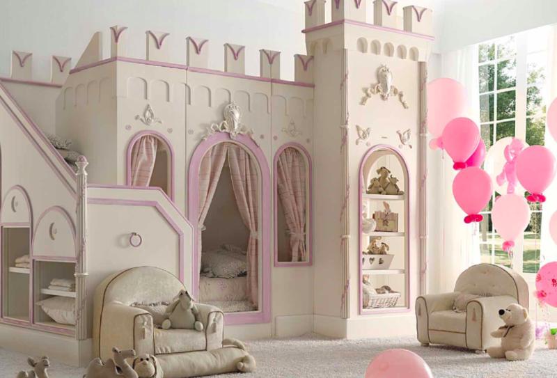 chambre enfant princesse