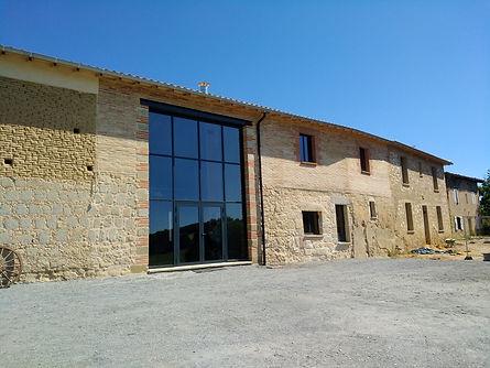 rénovation corps de ferme Tarn