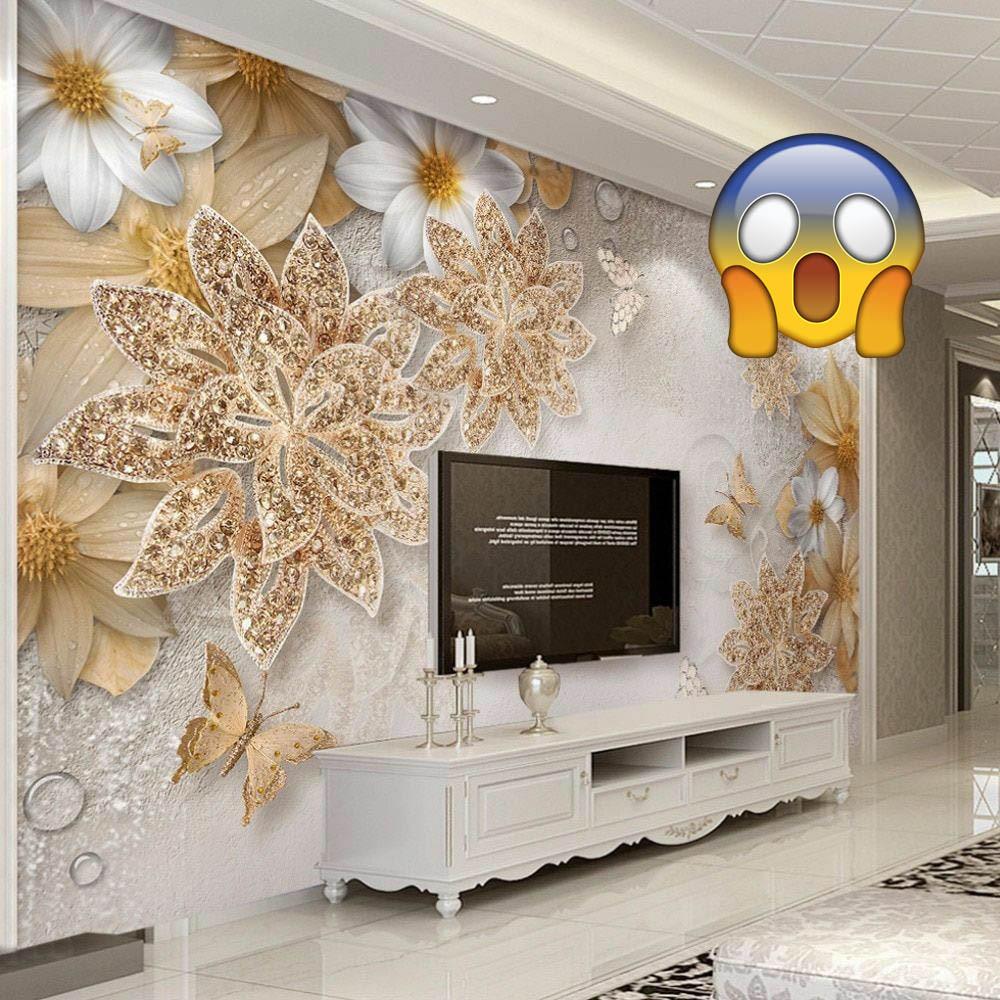 mauvaise décoration horrible fleurs