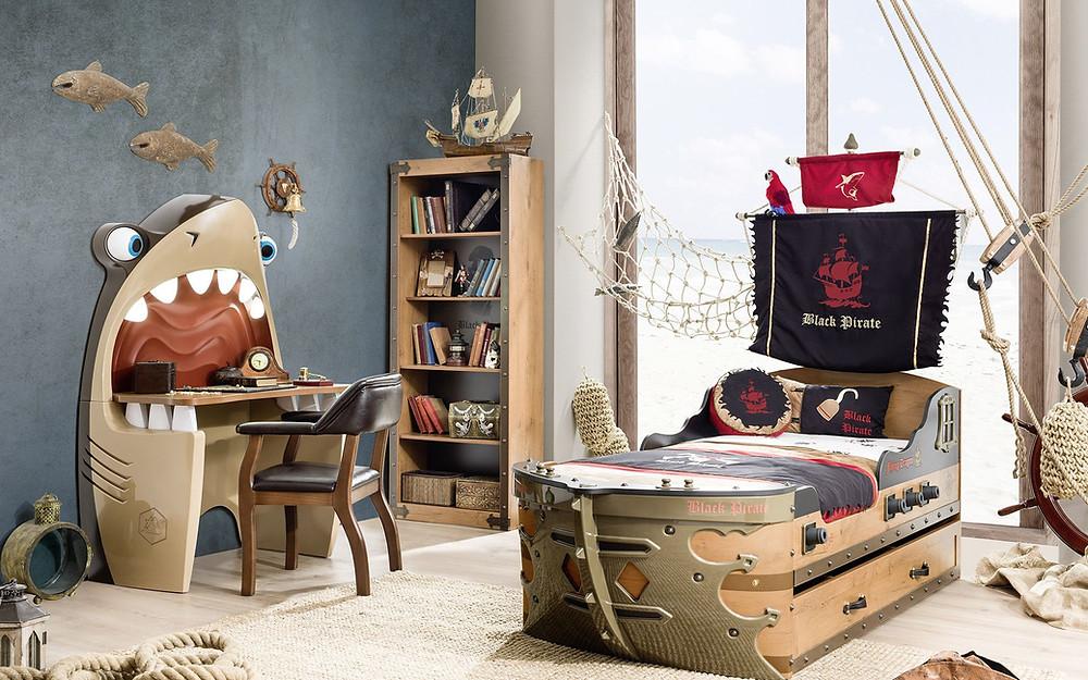 chambre enfant pirate
