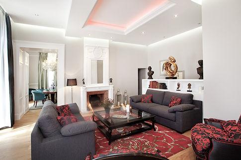 salon luxe château