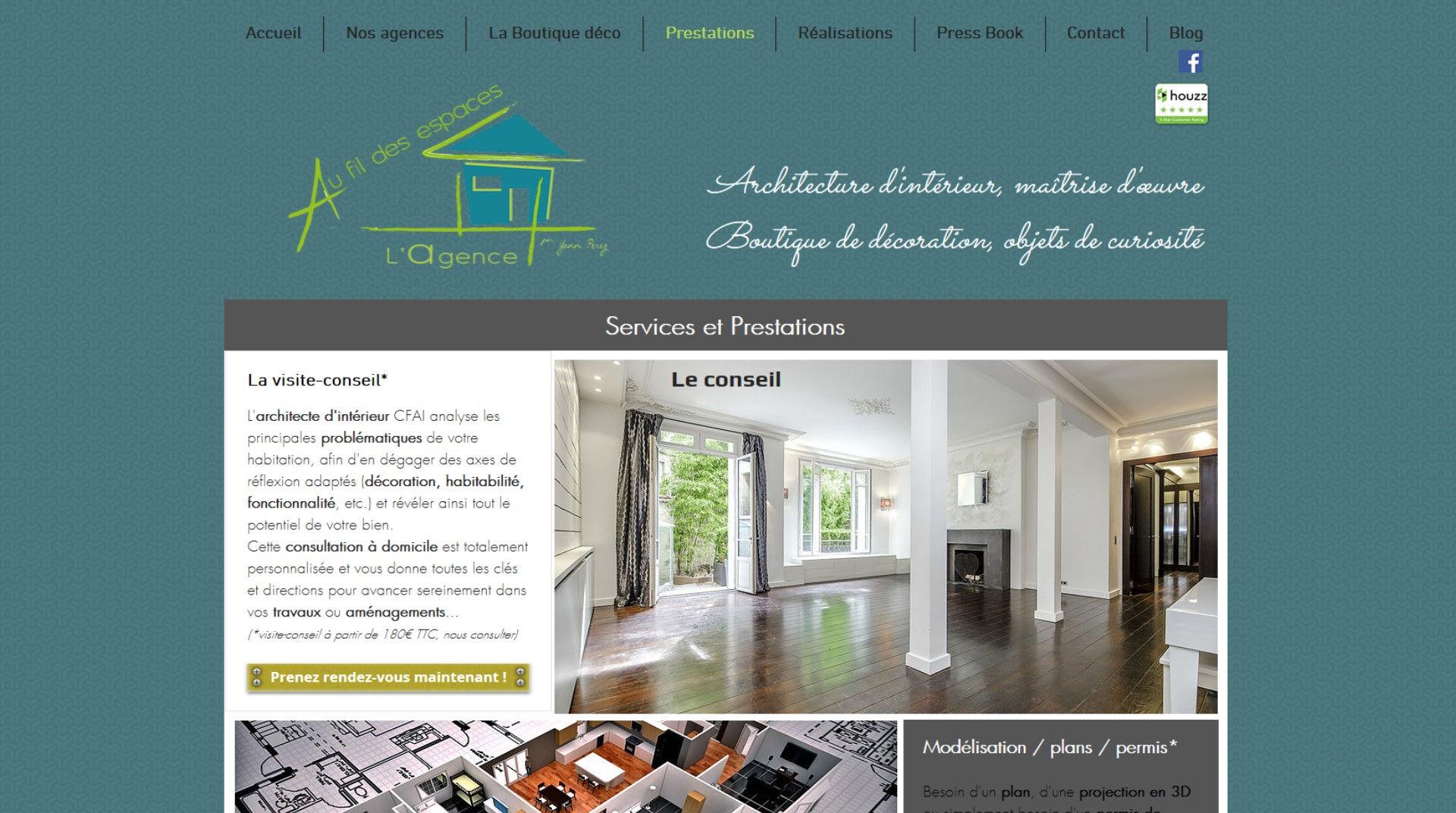 la visite-conseil en architecture d'intérieur et décoration