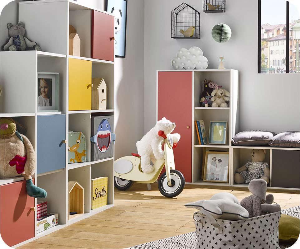 rangements chambre enfants