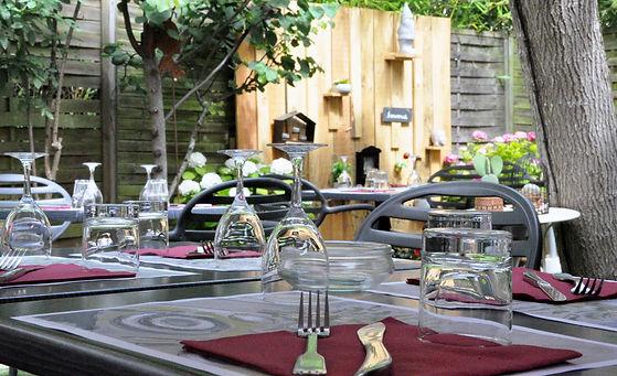 Restaurant Louise Lavaur jardin