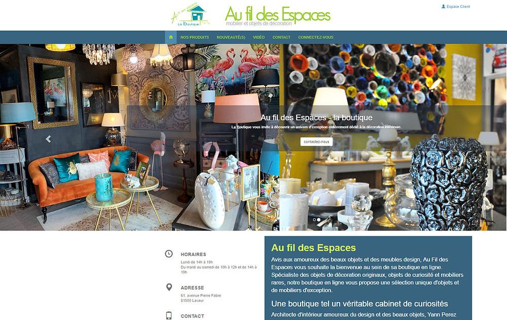 boutique de décoration en ligne