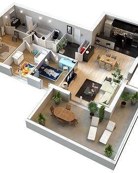 prestations architecture d'intérieur