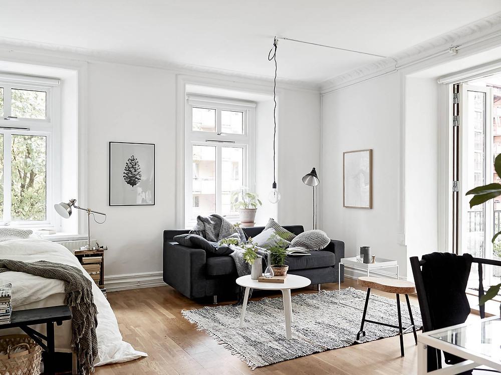 décoration scandinave appartement