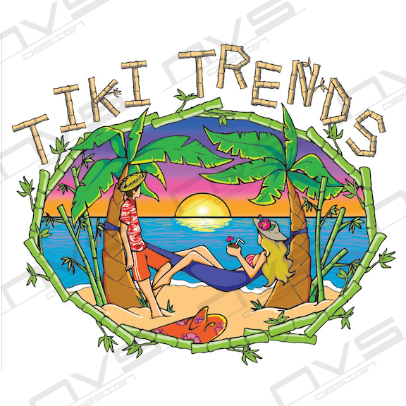 Tiki Trends Logo Design