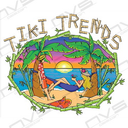 Tiki Trends Logo Design