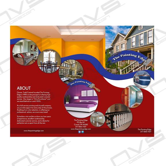 The Painting Edge Brochure Design