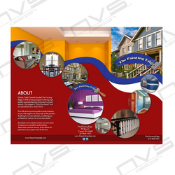 The Painting Edge Brochure Design