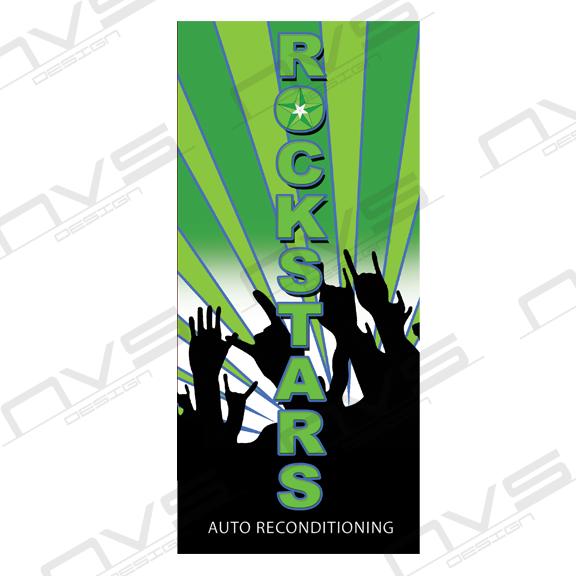 Rockstars Auto Brochure Design