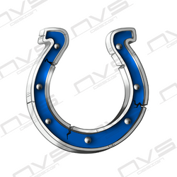 Colts Horseshoe Vintage
