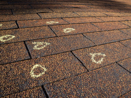 Signs Of Hail Damage  Roofing Siding Gutters
