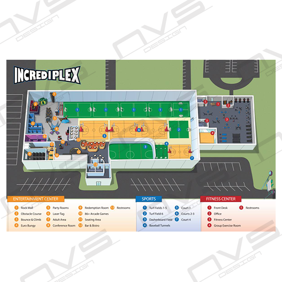 Incrediplex Map Marketing Piece