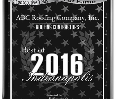 2016 Best of Indianapolis Award- 2 Years Running!