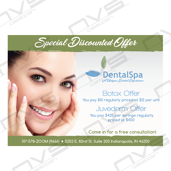 Dental Spa Botox Offer