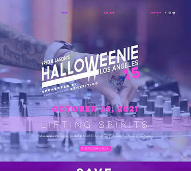Halloweeniehomepage