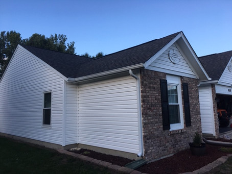 New Roof, Happy Customers-Indianapolis