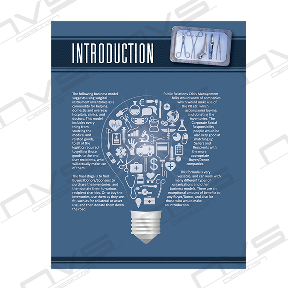 Medical Marketing Booklet