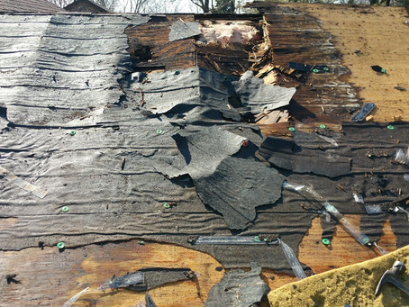 Rotted Roof Decking