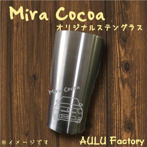 手書き風 L675 ミラココア オリジナル ステンレスタンブラー