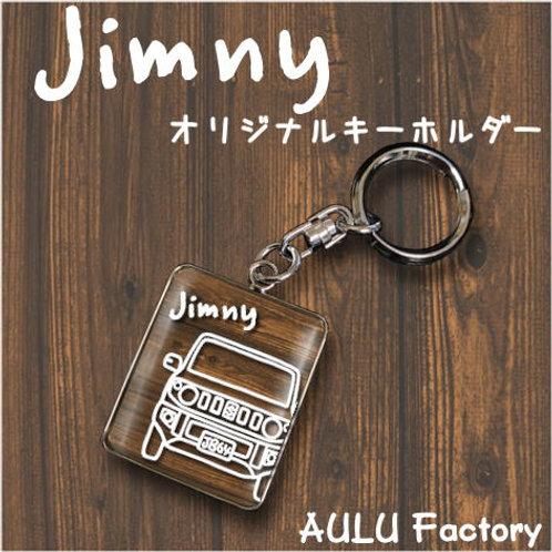 手書き風 JB64 ジムニー  オリジナル キーホルダー