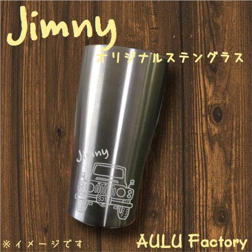 手書き風 SJ10 ジムニー オリジナル ステンレスタンブラー