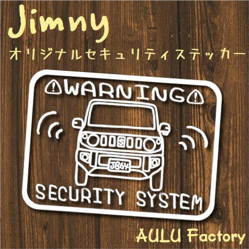 手書き風 JB64 ジムニー オリジナル セキュリティステッカー
