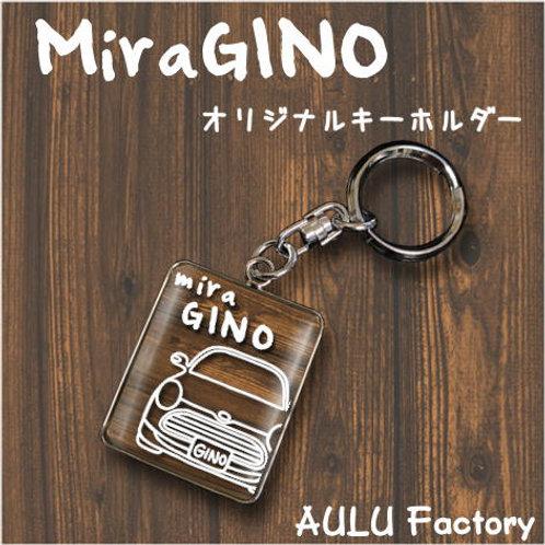 手書き風 L650 ミラジーノ  オリジナル キーホルダー