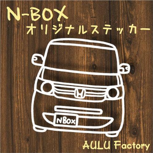 手書き風 JF1 NBox オリジナル ステッカー