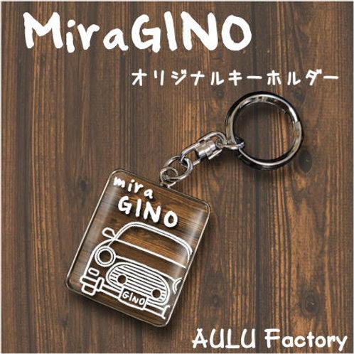 手書き風 L700 ミラジーノ  オリジナル キーホルダー