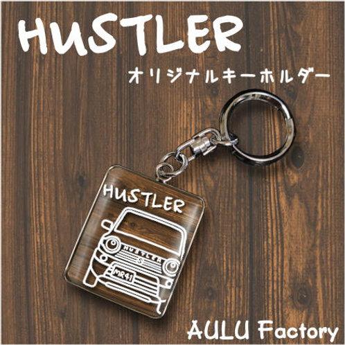 手書き風 MR41 ハスラー  オリジナル キーホルダー