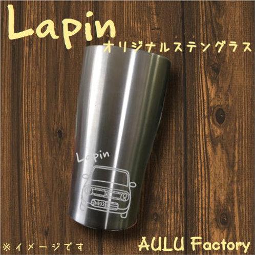 手書き風 HE33 ラパン オリジナル ステンレスタンブラー