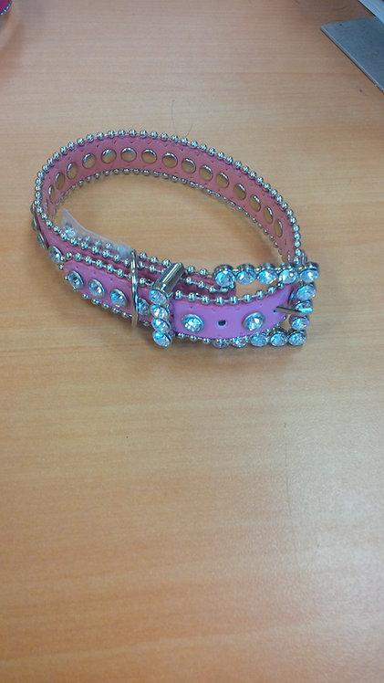 Baby Pink Bling Collar