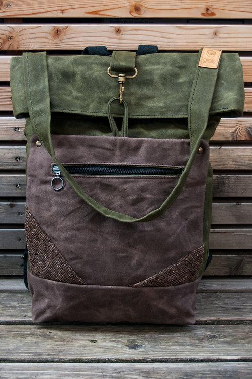 Backpack Ida (green-brown)