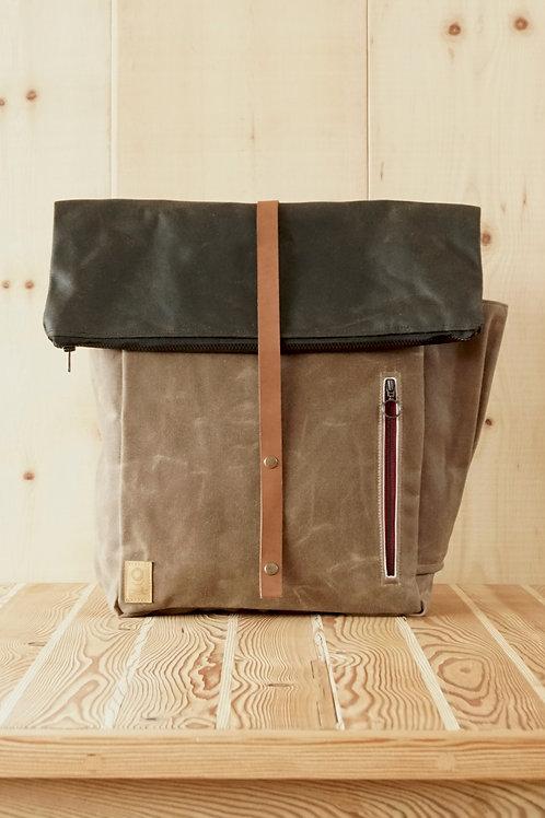 Backpack Eliah (brown-green)