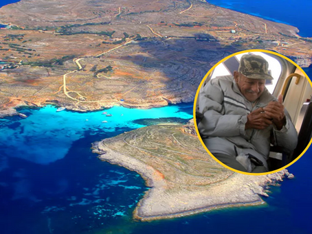One Of Comino's Only Three Residents Has Sadly Passed Away